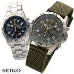 SEIKO(セイコー) ミリタリークロノ SND379P/ネイビー・ブレス