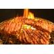 大好評亀山社中 焼肉 計4kgセットB 【華咲きハラミ400g×4、華咲きカタロース400g×6 、ハサミ、レシピ付き】