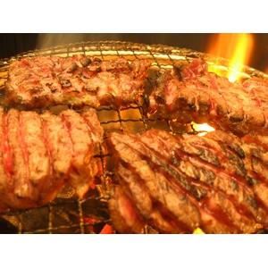 亀山社中 焼肉 計2kgセット【華咲カルビ400g×2、華咲ハラミタレ漬け400g×3 、ハサミ1本】
