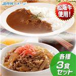 贅沢の極み!松坂牛使用のワガママセット ビーフカレー&牛丼の具各3食の詳細ページへ