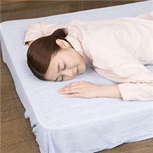 クールシーツDX『涼』 高島ちぢみ セミダブル ベッド用
