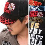 アメリカ特殊部隊 3D立体刺繍キャップ  ベースボールタイプ CIA