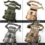 アメリカ SWAT部隊 レッグポーチ BP040NN オリーブ