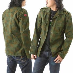 ノルウェーAFカモフラシャツジャケットデッドストック 11041 L