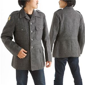 デンマーク軍放出ウールジャケット デットストック MM-11071 104《M〜L相当》