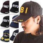 アメリカンベースボールキャップ&USSキャップ FBI
