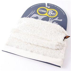 スペイン製『BUFF』撥水透湿POLARTEC使用多目的ヘッドスカーフ オフホワイト