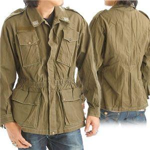 【中古】イタリア軍放出 コンバットジャケット Lサイズ