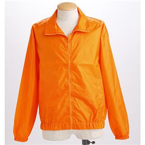 フルジップウィンドーブレーカーブルゾン オレンジ M