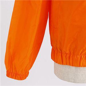 フルジップウィンドーブレーカーブルゾン オレンジ S