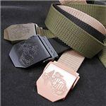 アメリカ海兵隊エンブレムユーティリティーベルト レプリカ ブラック