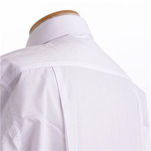 百貨店取り扱いメーカーホワイトワイシャツ ホワイト Lサイズ