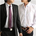 百貨店取り扱いメーカーホワイトワイシャツ ホワイト LLサイズの詳細ページへ