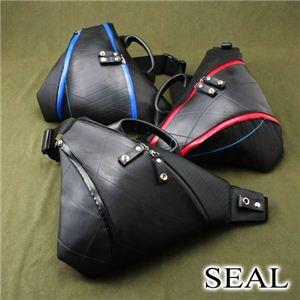 SEAL(シール) 日本製 トライアングルバック SO-0331 ブラック×レッド(おまけ付き)