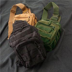 US軍偵察隊肩がけショルダーバッグ ブラック M