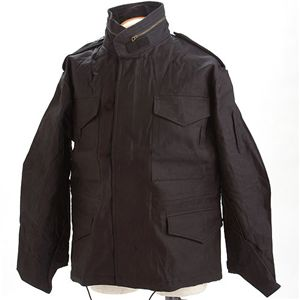 HOUSTON(ヒューストン) ショートM-65ジャケット ブラック S