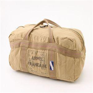 フランス空軍パラシュートステッチバッグ カーキ