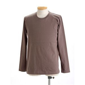 ユニセックス長袖Tシャツ 150 チャコール