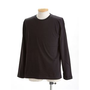ユニセックス長袖Tシャツ 150 ブラック