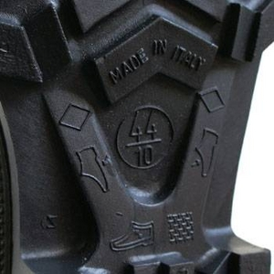 イタリア軍放出 ラバーオリーブロングブーツデットストック 44(28cm)