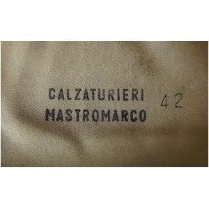 イタリア軍放出 パラトルーパーレザーブーツブラウン中古 37(約21cm)