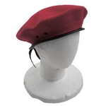 フランス軍ベレー帽 レプリカ レッド