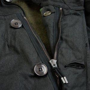フランス軍放出 M64パーカー ライナー付 JP023ND ブラック染 86(M相当)【デットストック】【未使用】