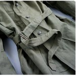 フランスWW2(第二次世界大戦)モーターサイクルオーバーコート JC005NN L相当 【中古】