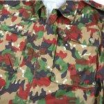 スイス軍放出 M83カモジャケット JJ069NN M相当 【デットストック】【未使用】