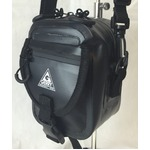 GERRY 超軽量防水スマフォ デジカメ入れに便利ミニショルダー & ウェストポーチ バッグ GE8002 ブラック