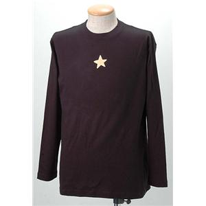 語れる立体和柄ロングTシャツ S-1469/ガンマン雷神 S
