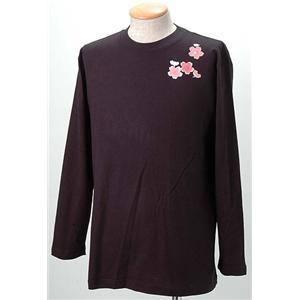 語れる立体和柄ロングTシャツ S-1998/弁財天 L(NP)