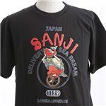 むかしむかし ワンピースコレクション 和柄半袖Tシャツ S-2440/恵比寿サンジ 黒M