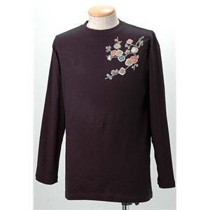 語れる立体和柄ロングTシャツ S-1952/花つくし S
