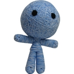 ブードゥー人形BIGサイズ ブルー