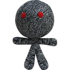 ブードゥー人形BIGサイズ ブラック