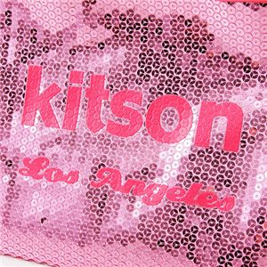 KITSON(キットソン) スパンコール ミニ トートバッグ 3553 ピンク/ピンク