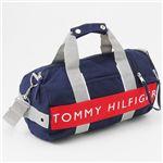 TOMMY HILFIGER(トミーヒルフィガー) ミニボストンバッグ L500079 Navy/Red
