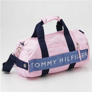 TOMMY HILFIGER(トミーヒルフィガー) ミニダッフルバッグMini Duffle L500079 Pink/S.Blue