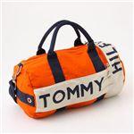 TOMMY HILFIGER(トミーヒルフィガ―) ミニ ボストン Orange