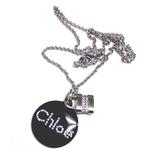 クロエ ネックレス ブラック  7HCO03-7H750 001