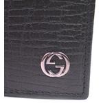 GUCCI(グッチ) 二つ折財布 ブラックエンボス 115219A510R1000