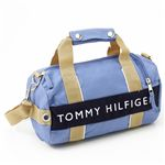 TOMMY HILFIGER(トミーフィルフィガー) マイクロミニダッフルバッグ MICRO MINI DUFFLE L200154-421・Slate Blue×Navy