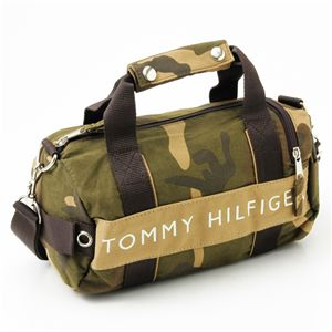 TOMMY HILFIGER(トミーフィルフィガー)マイクロミニダッフルバッグ MICRO MINI DUFFLE L200156-937 Camo