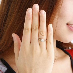 激安プラチナダイヤモンドリング(指輪)0.9ct【鑑別書付き】
