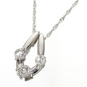 K18/WG トリプルダイヤモンド2WAYペンダントの宝石