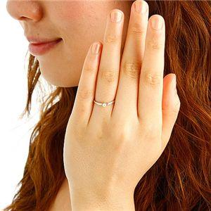 激安 K18ダイヤモンドリング