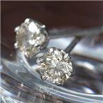 【訳あり・在庫処分】0.3ct シャンパンダイヤモンドピアスの詳細ページへ