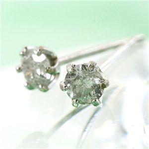 K18 0.2ctダイヤモンドピアス