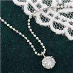 プラチナPT0.3ct ダイヤモンドペンダント/ネックレス